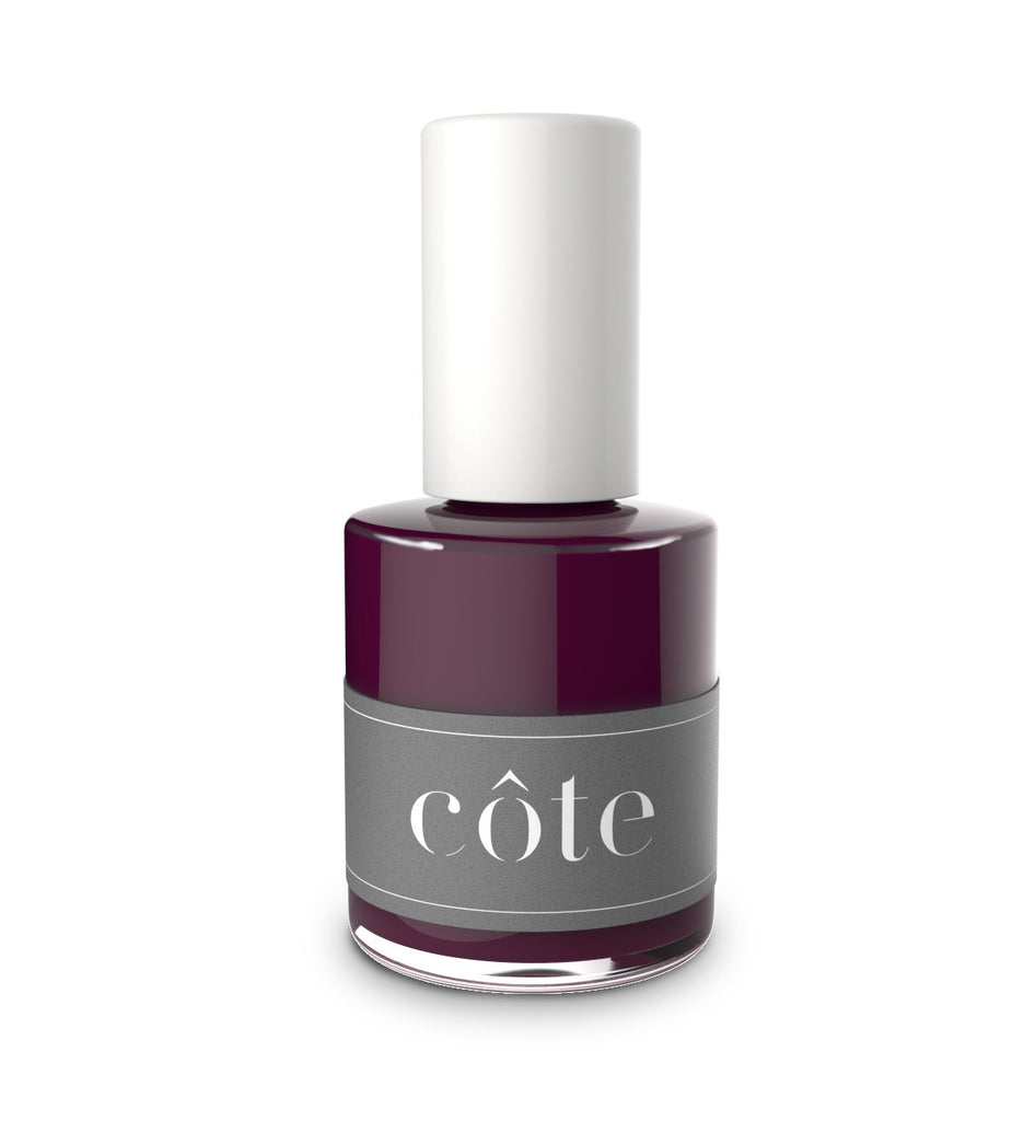 Côte - No. 39 Dark VaNo. 39 Vampy Dark Red Nail Polish - Vegan Nail Polishmpy Red Nail Polish