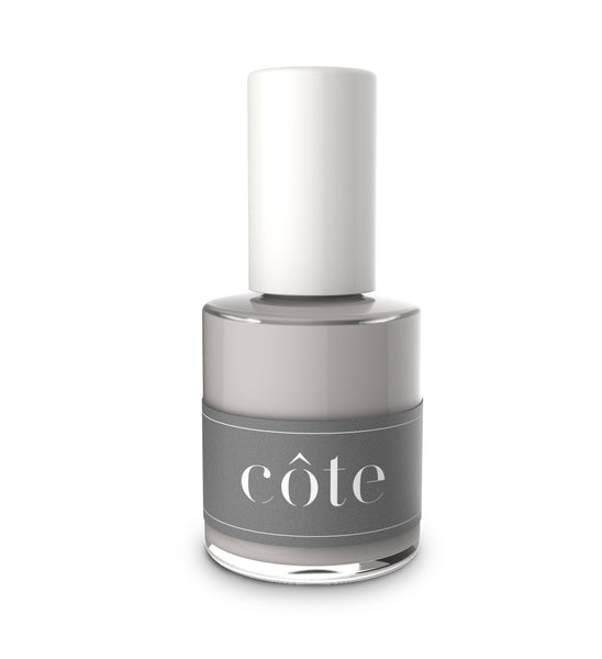 No. 44 grey pearlized nail polish
