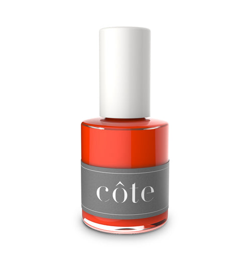 No. 50 red cream nail polish