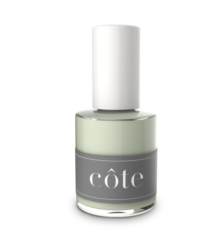 Côte - No. 60 Sea Foam Green Cream Nail Polish