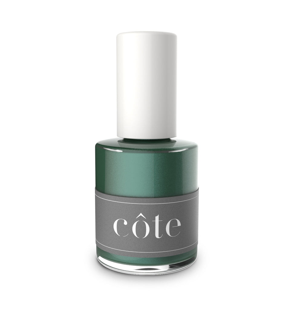 No. 69 Evergreen Fir Green Shimmer Nail Polish