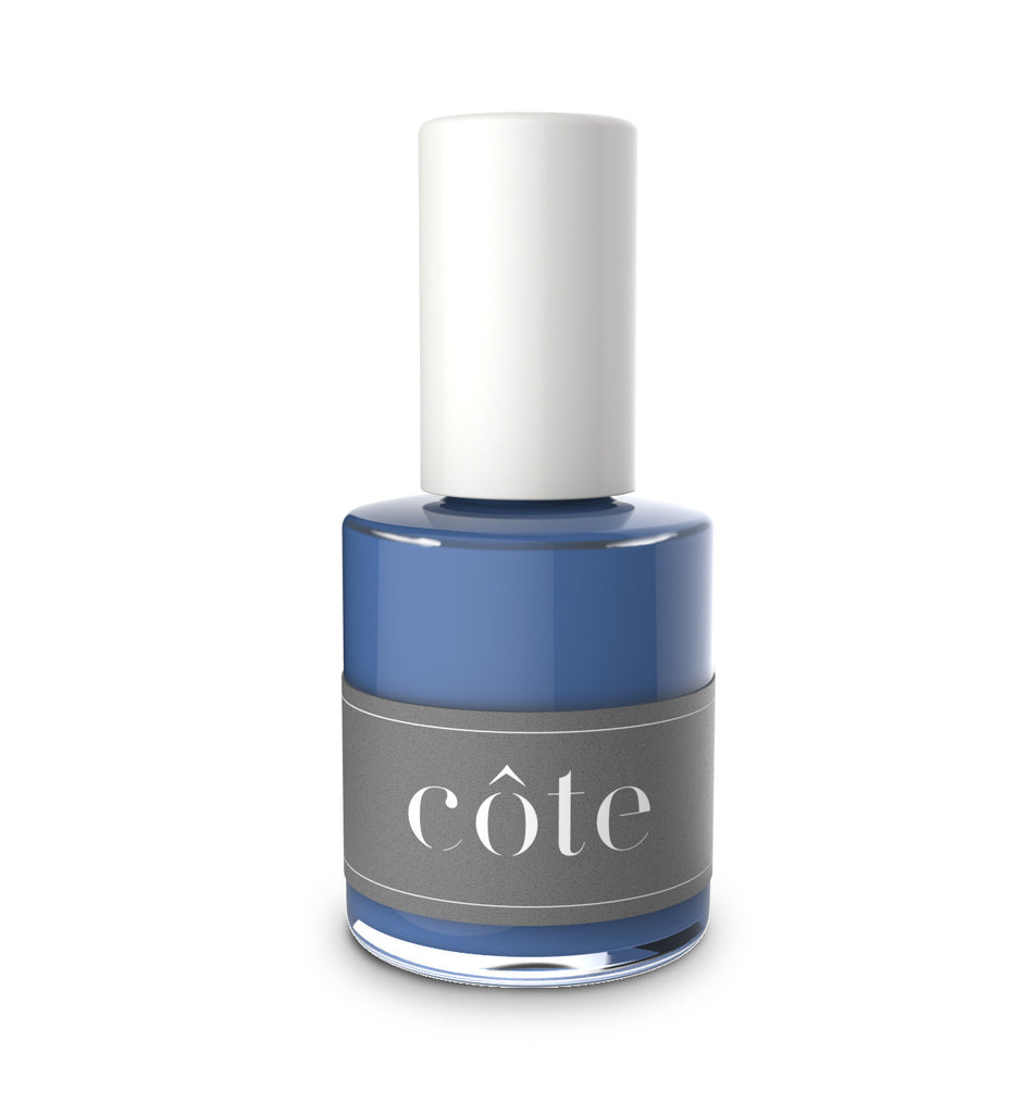 No. 72 country cottage blue cream nail polish