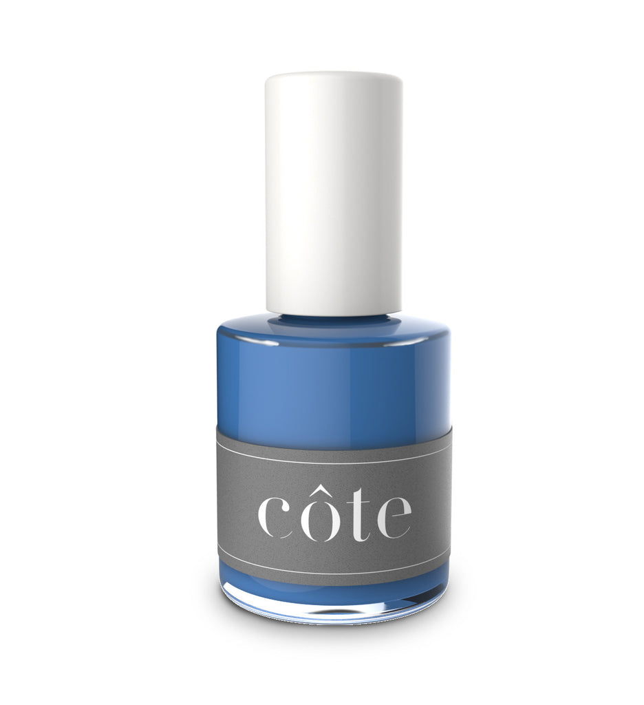 No. 73 true blue cream nail polish