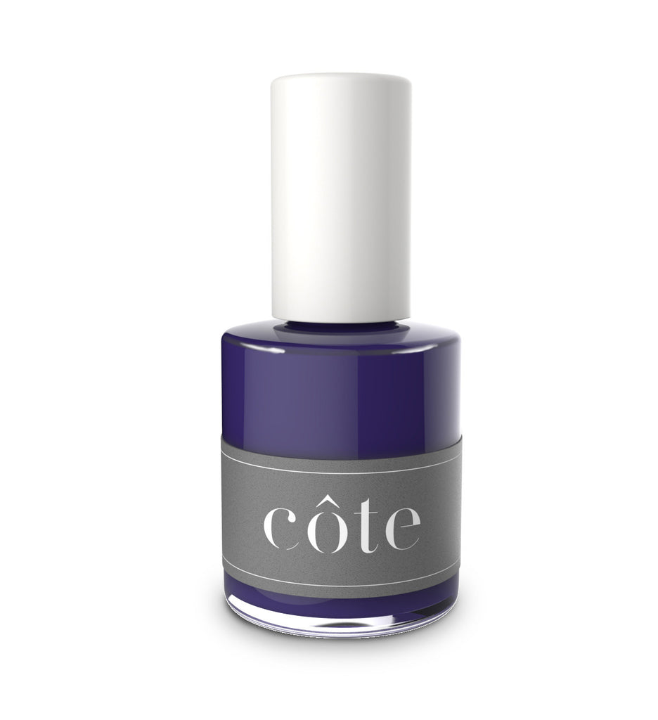 No. 78 Dark Eggplant Purple Cream Nail Polish