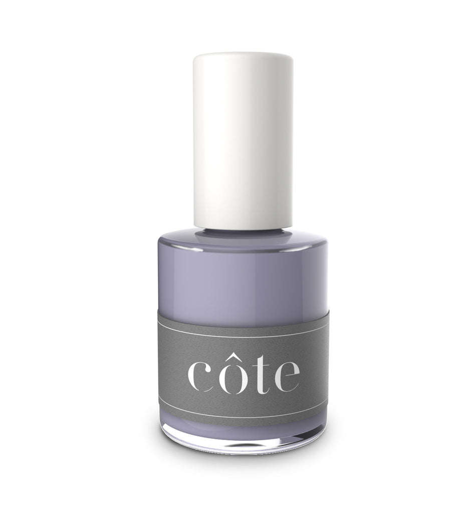 No. 82 dusk purple cream nontoxic nail polish