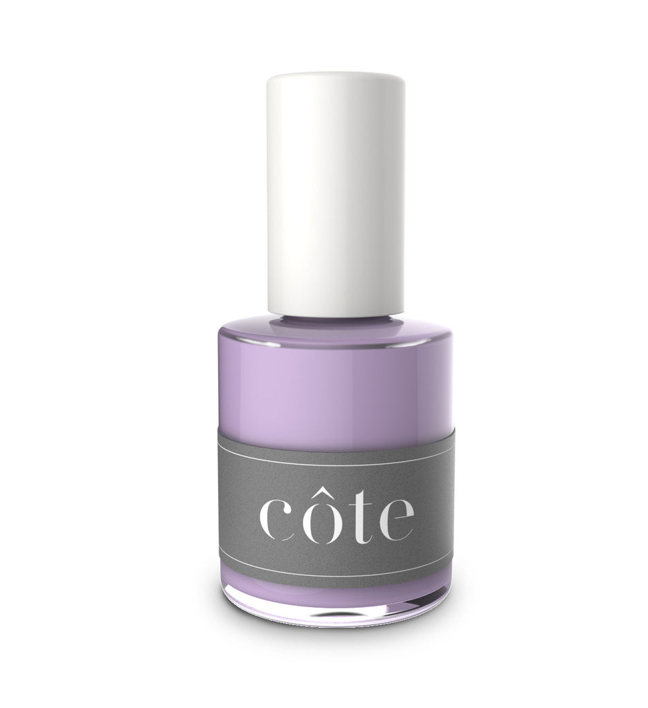 No. 83 heliotrope purple cream nail polish