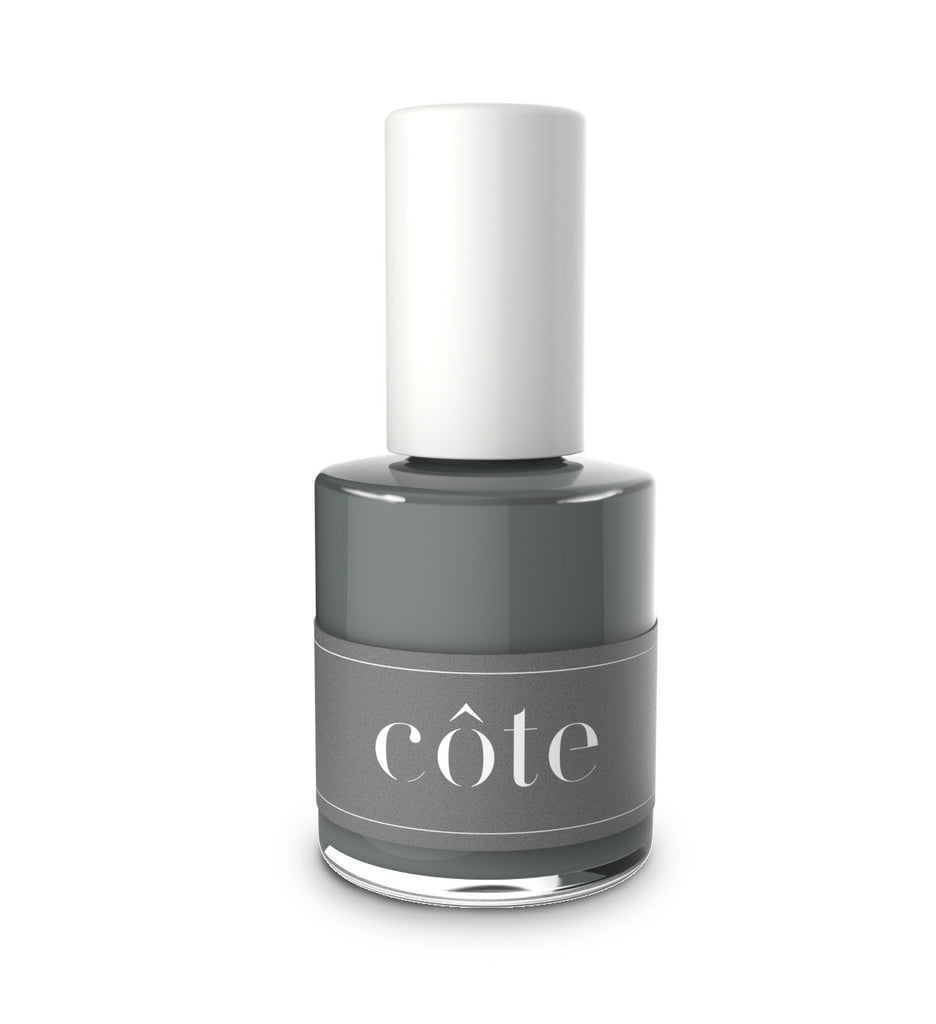 No. 98 dark sage green cream nail polish