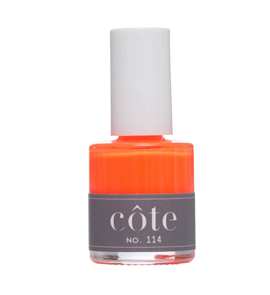 No.114 Neon Orange Nontoxic Nail Polish