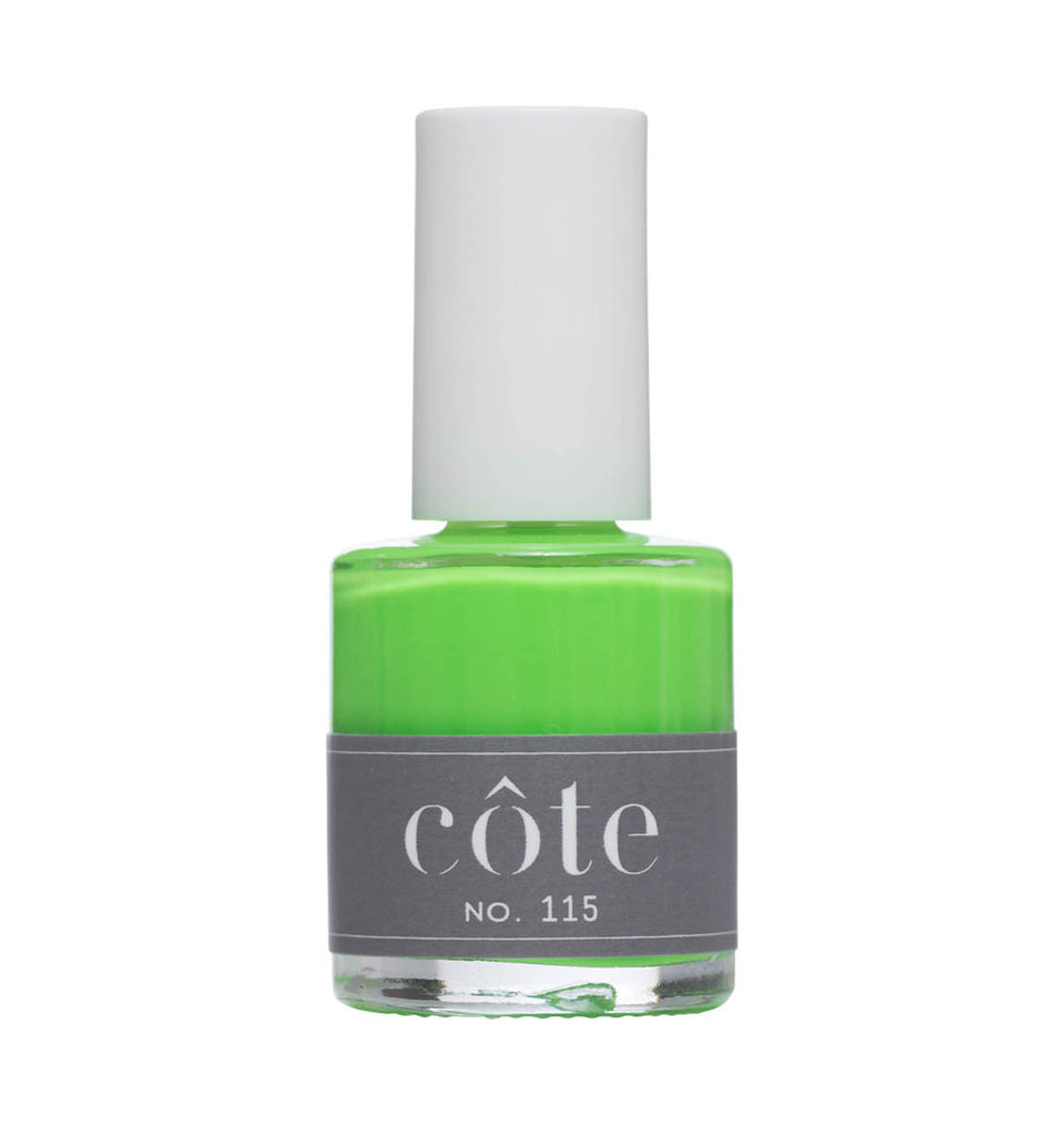 No. 115 Neon Green Nail Polish - Vegan Nail Polish