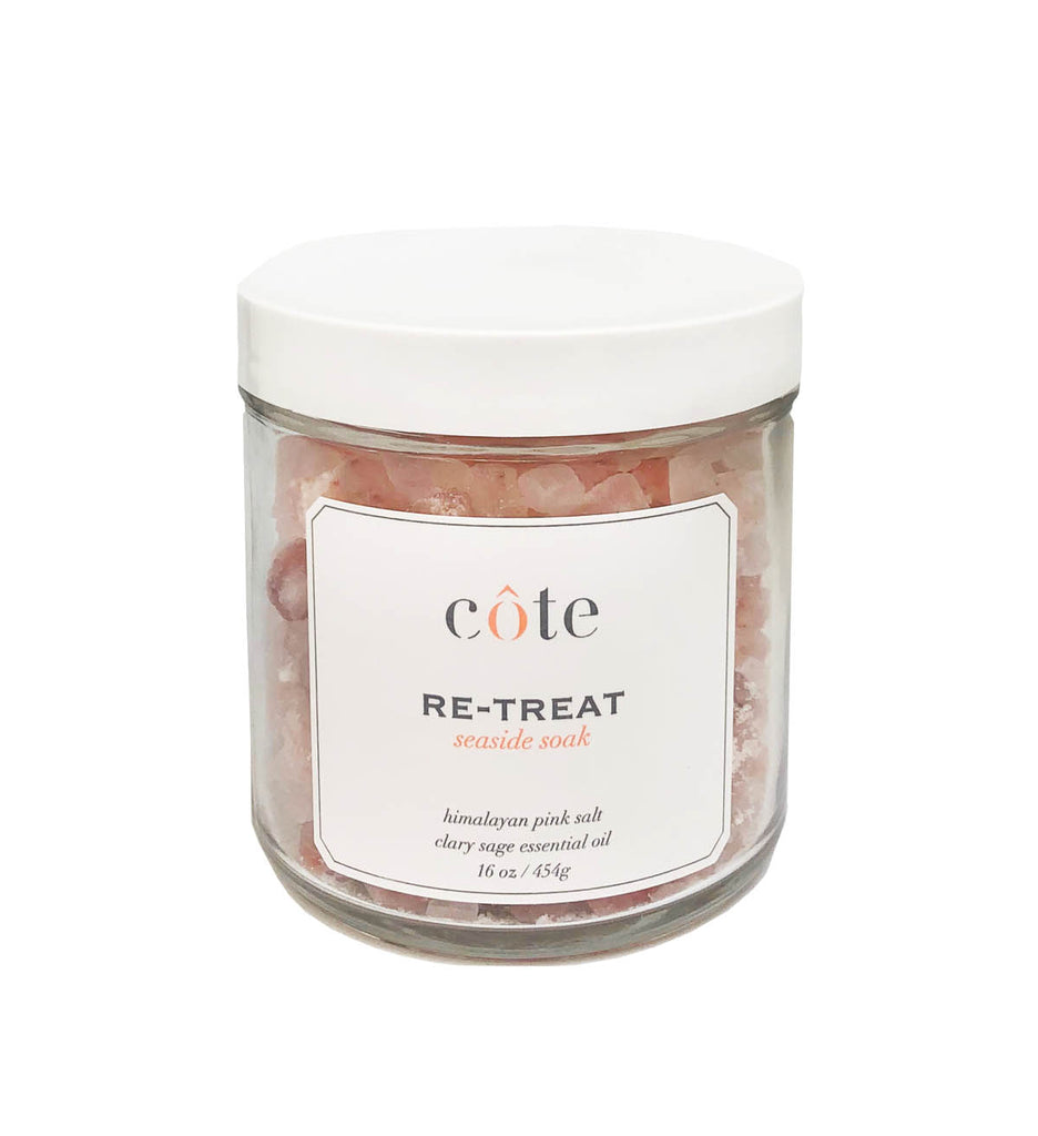 Retreat Salt Soak and Clary Sage