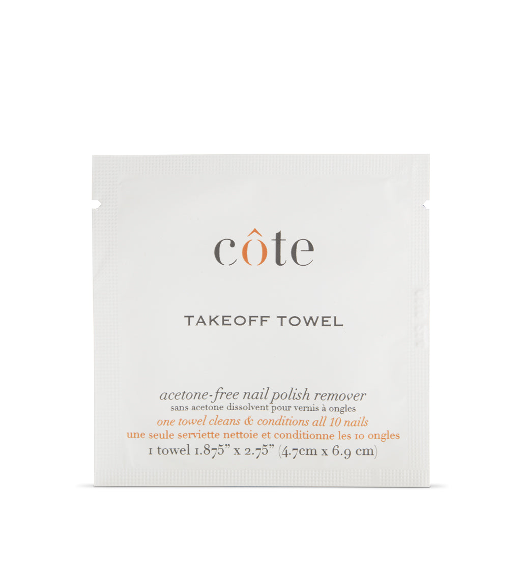 TakeOff Towels - Polish Remover