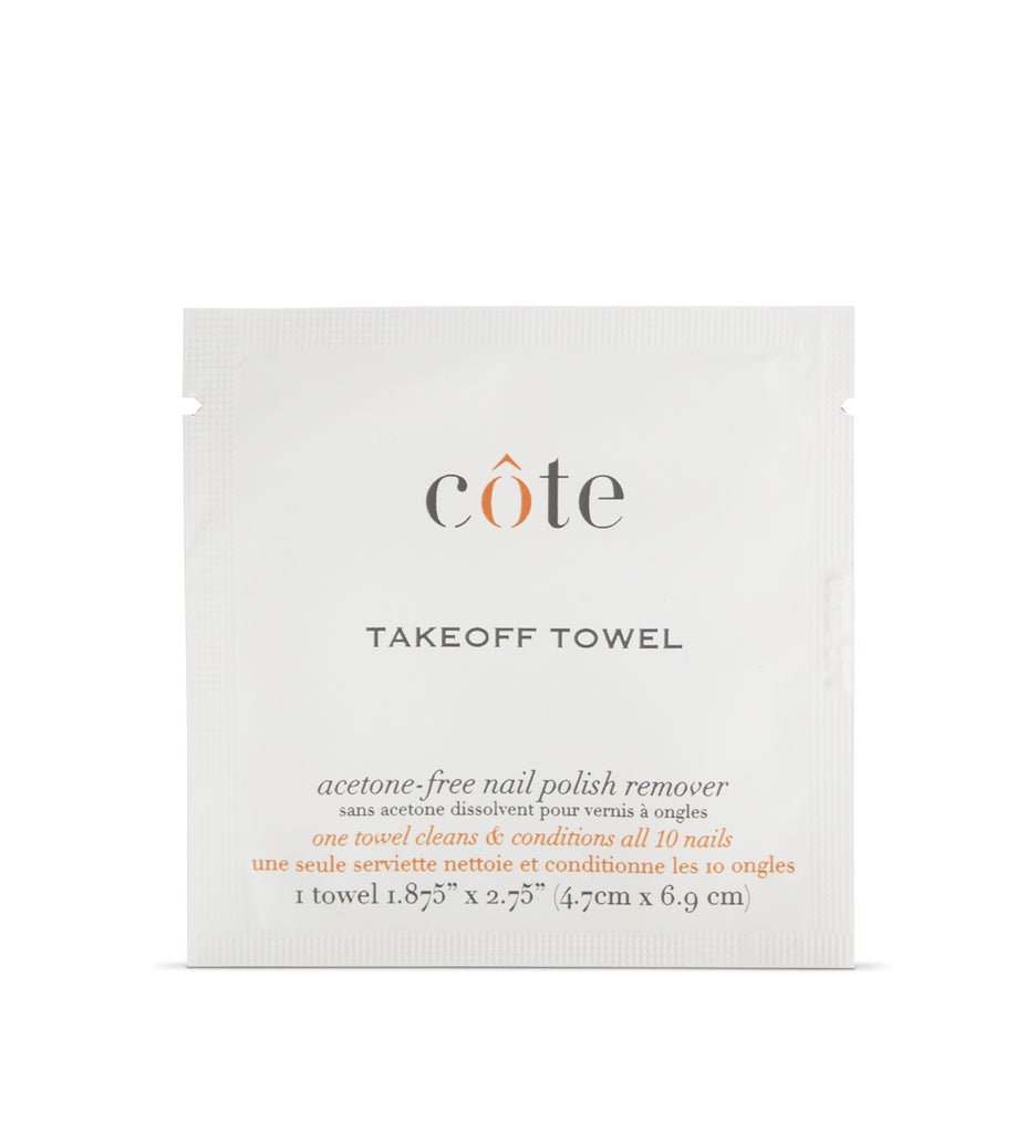 Take Off Towels - Non Acetone Nail Polish Remover