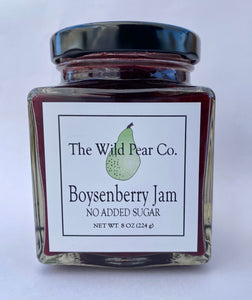 Boysenberry Jam with No Added Sugar