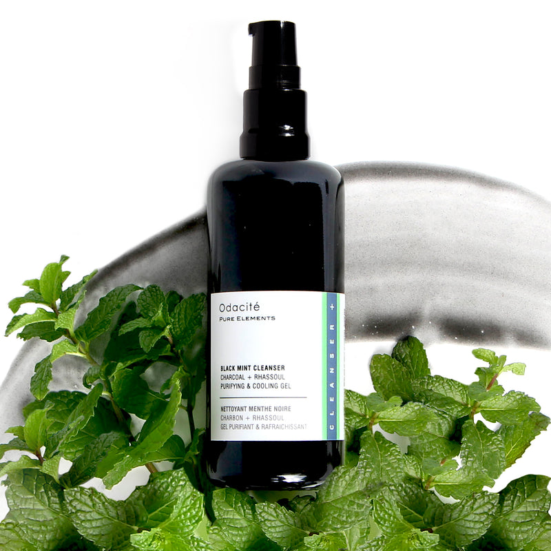 Cleanser, Black Mint, Akne, Augen Kontur, Antiaging, Skincare, Feuchtigkeit, Beauty, Dehydration, Naturkosmetik