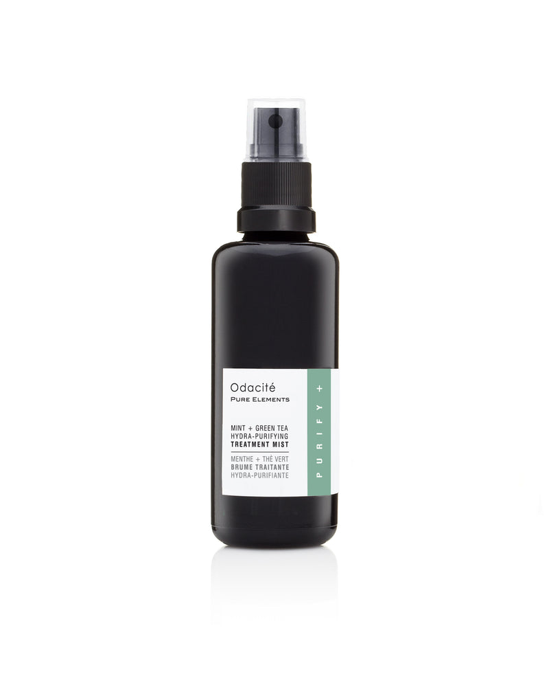Mint + Green Tea Hydra-Purifying Treatment Mist - toning spray with mint and green tea