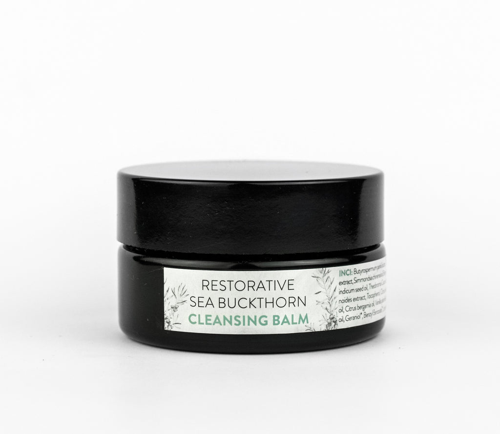 Restorative Sea Buckthorn Cleansing Balm - Mild yet effective cleansing balm with sea buckthorn