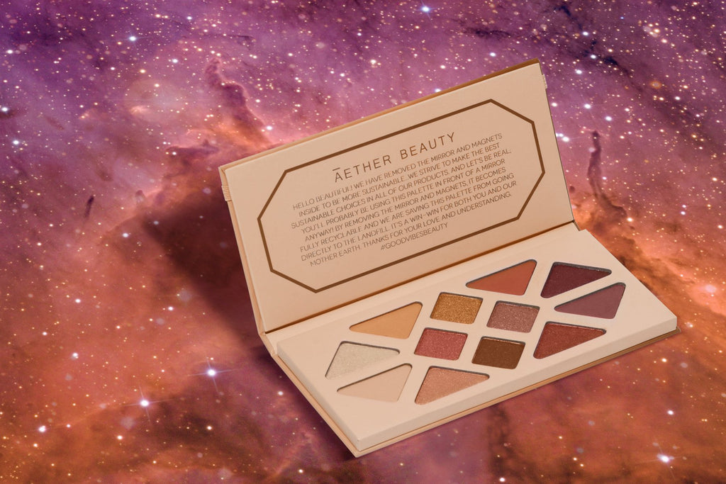 Clean Beauty Lidschatten: Summer Solstice Palette von Aether Beauty