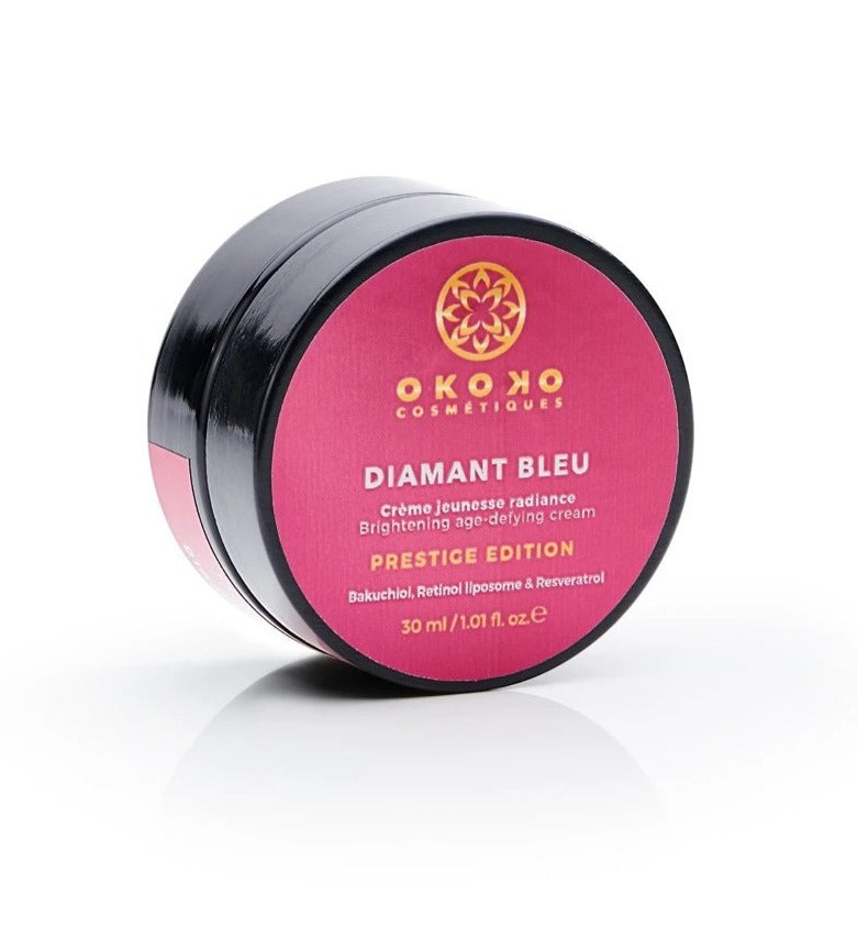 DIAMANT BLEU - Prestige Edition - Highly potent anti-aging cream with encapsulated retinol, bakuchiol & resveratrol
