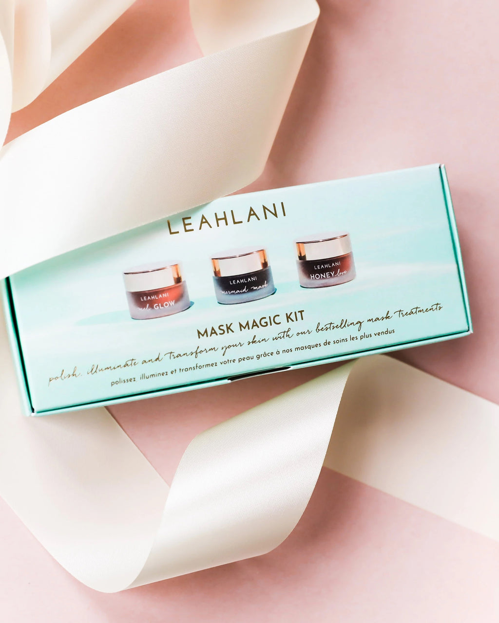 Mask Magic Kit - LEAHLANI's three popular masks in a small format