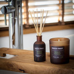 Stick diffuser in the fragrance combination oakmoss & sandalwood