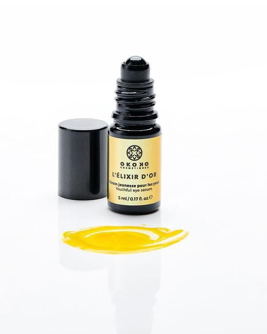 L'Élixir D'or - Rich eye serum with prickly pear, bakuchiol and caffeine