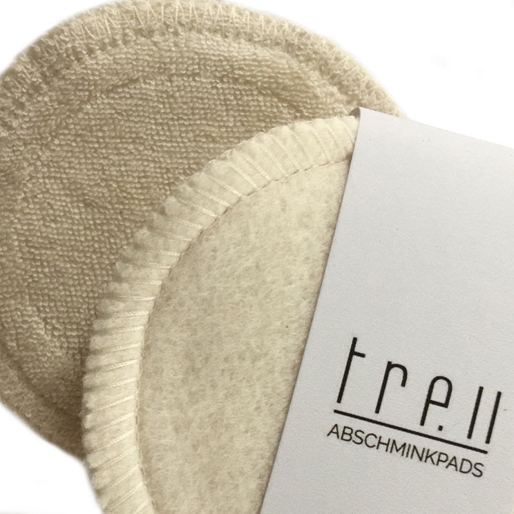 Washable make-up removal pads - the hard-working ones from TREU Textile
