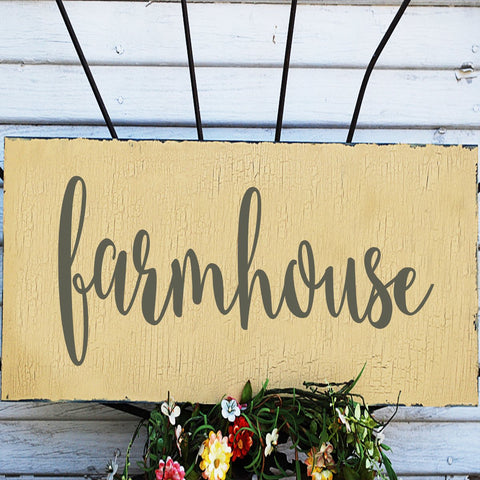 What do you need for your farmhouse?