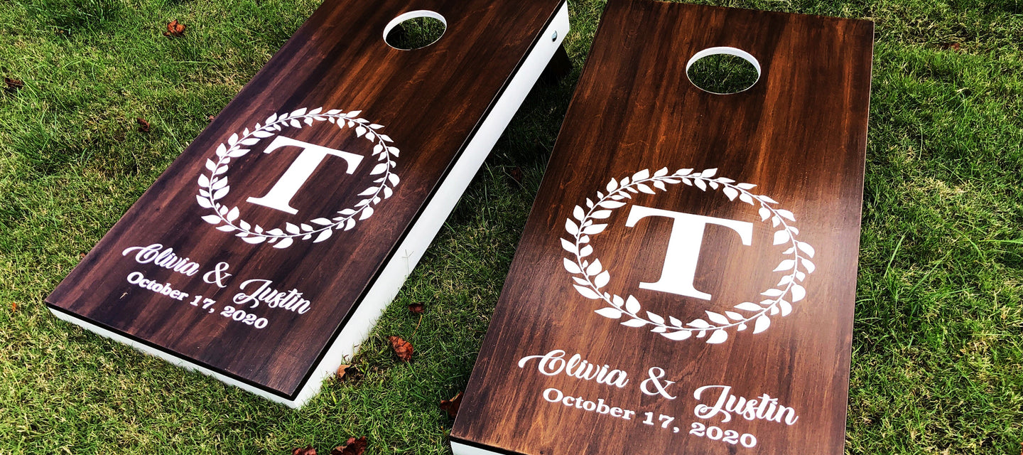 Custom Family Monogram Stencils are perfect for creating signs for your home or Christmas gifts.