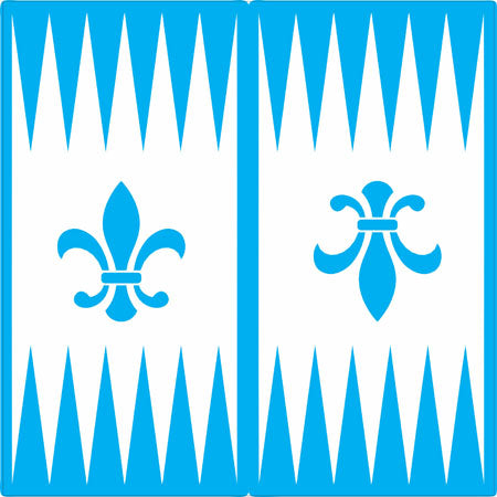 Custom Backgammon Board Stencil - Superior Stencils