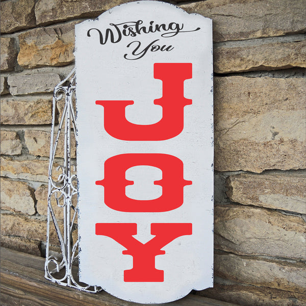 Wishing You JOY Stencil - Superior Stencils