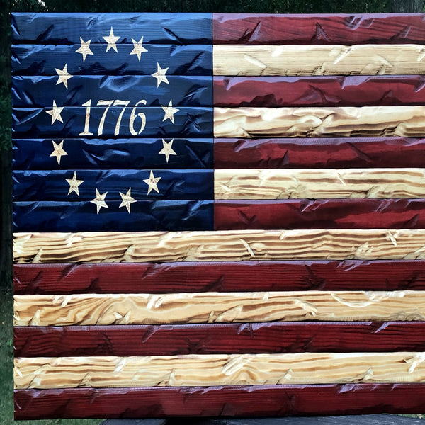 Betsy Ross Star Stencil - US Flag Stars 1776 - Superior Stencils