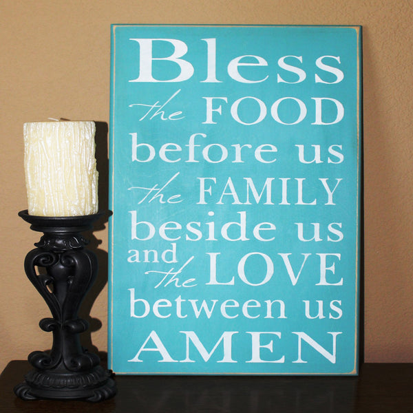 Bless The Food Stencil - Superior Stencils