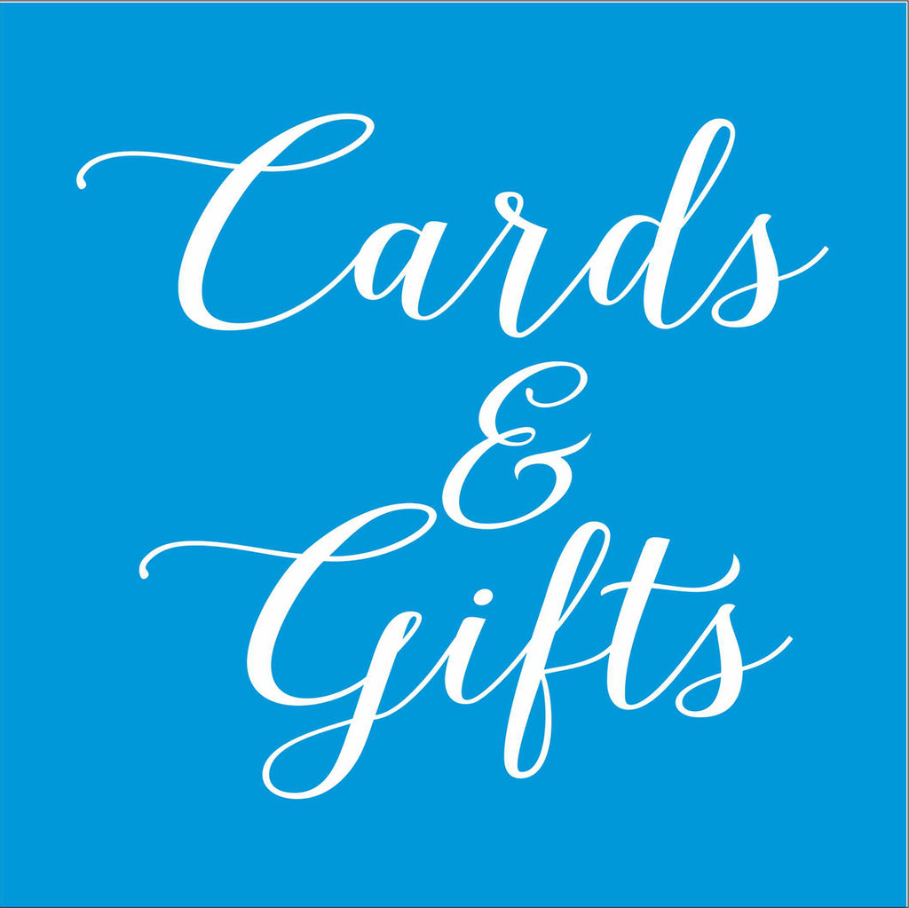 Cards & Gifts Wedding Stencil - Superior Stencils