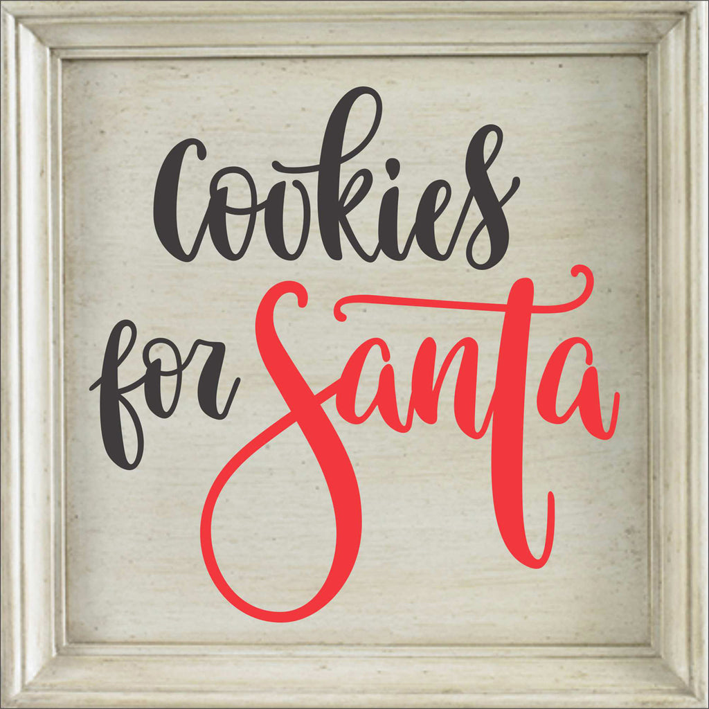 Cookies for Santa - Stencil - Superior Stencils