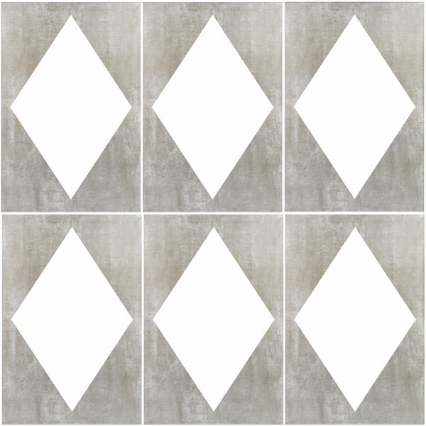 DIAMOND TILE STENCIL - Superior Stencils