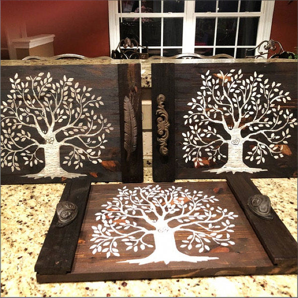 Family Tree Stencil - Superior Stencils