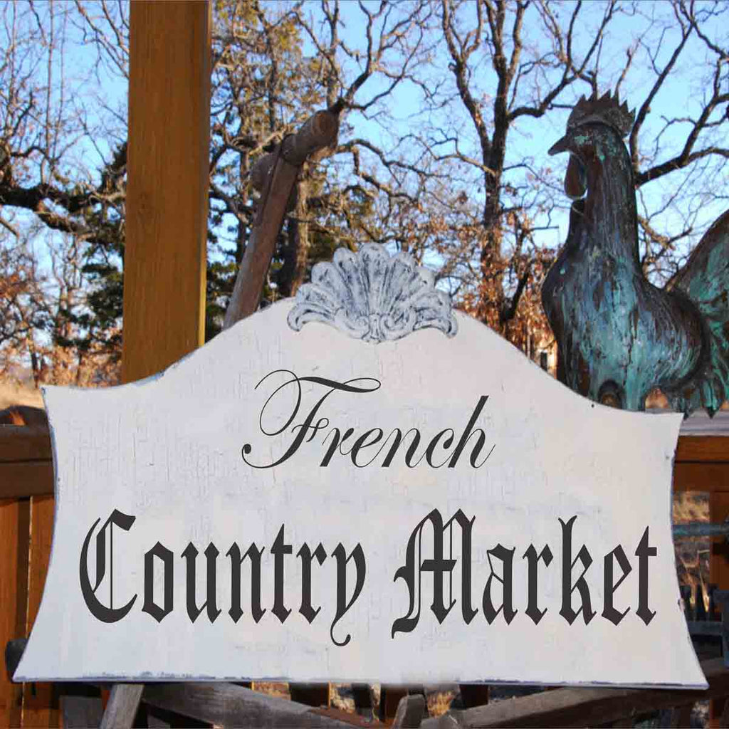 French Country MARKET Stencil - Superior Stencils