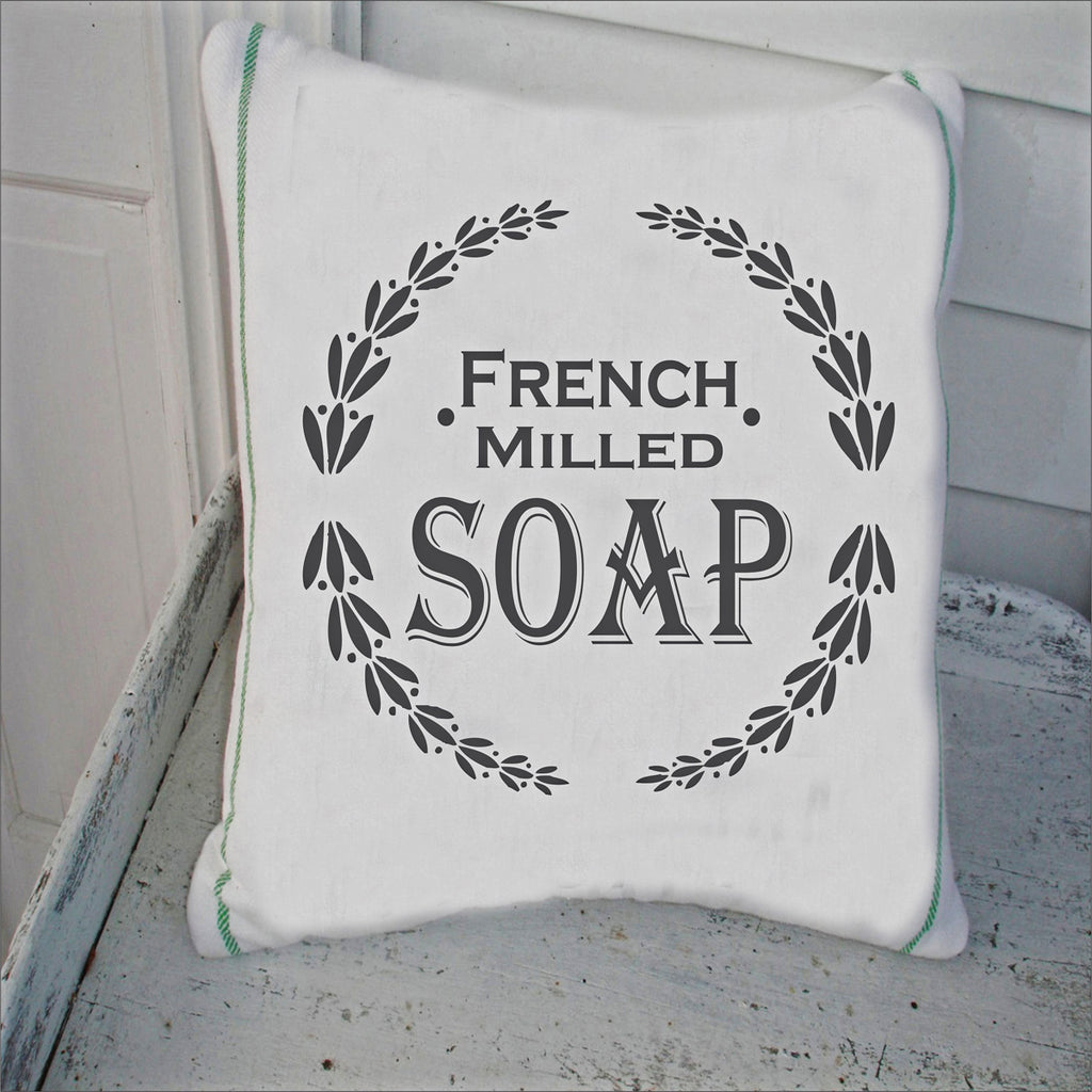 French Milled Soap Stencil - Superior Stencils