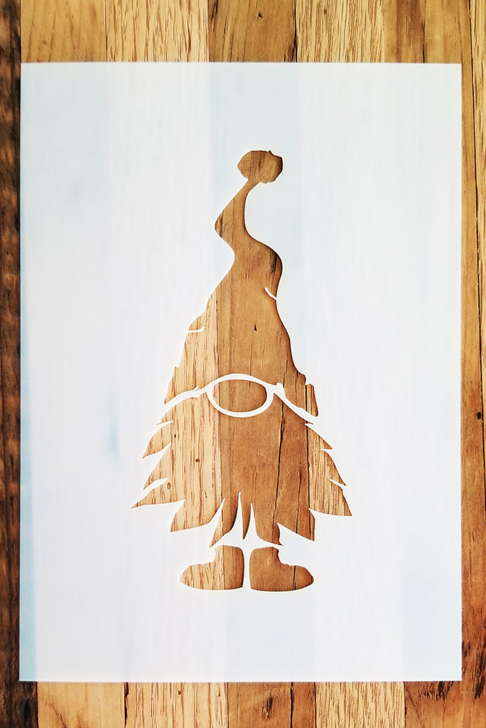 Christmas Gnome Stencil - Jolly Gnome - Superior Stencils