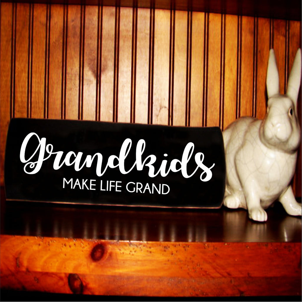 Grandkids Make Life Grand Stencil - Superior Stencils