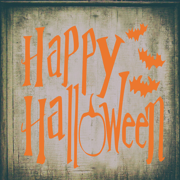 HAPPY HALLOWEEN Stencil - Superior Stencils
