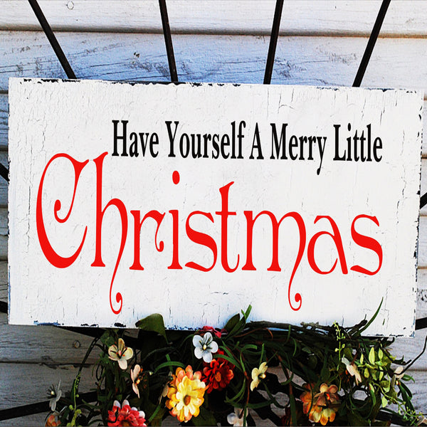 Have Yourself A Merry Little Christmas Stencil - Superior Stencils