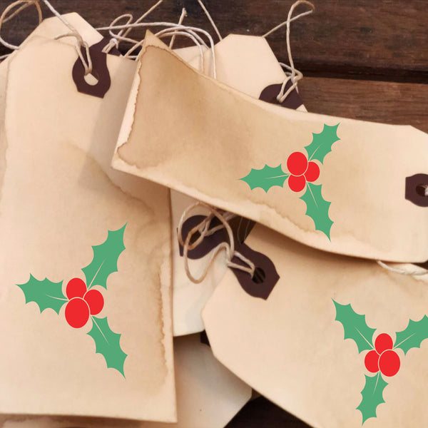 Holly Stencil Mistletoe Stencil - Superior Stencils