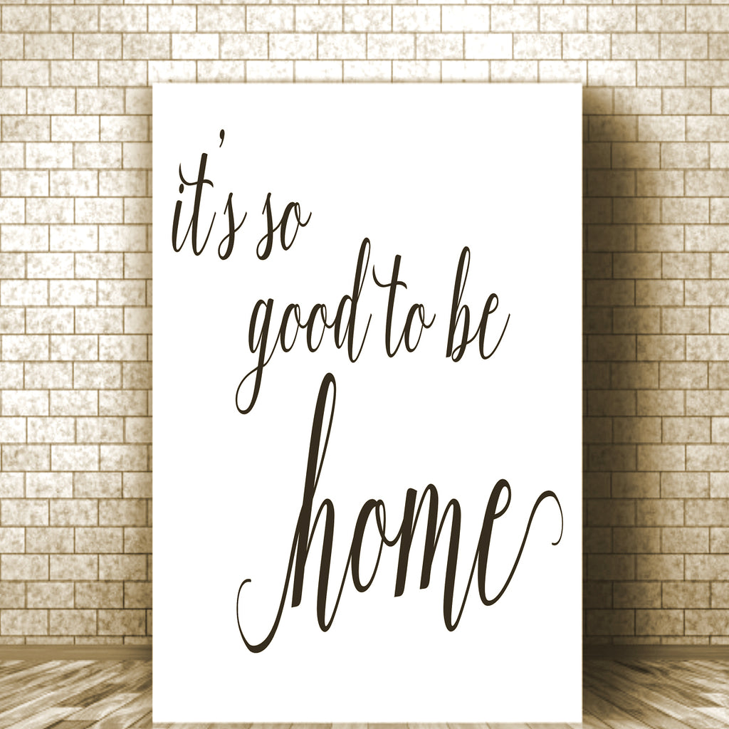 it's so good to be home Stencil - Superior Stencils