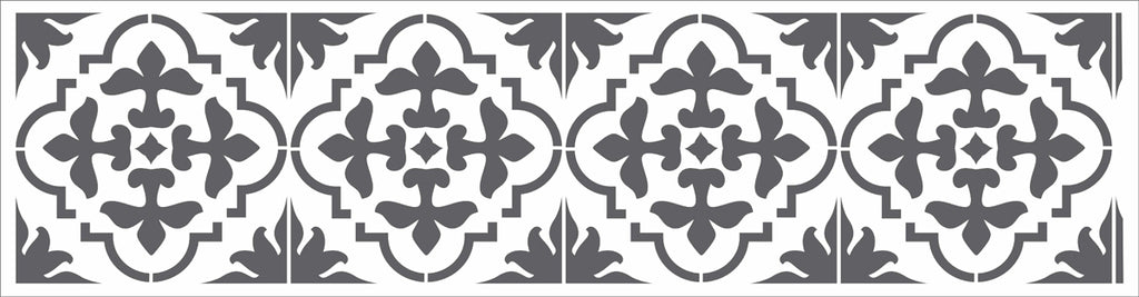 Marrah Tile Stencil - Superior Stencils