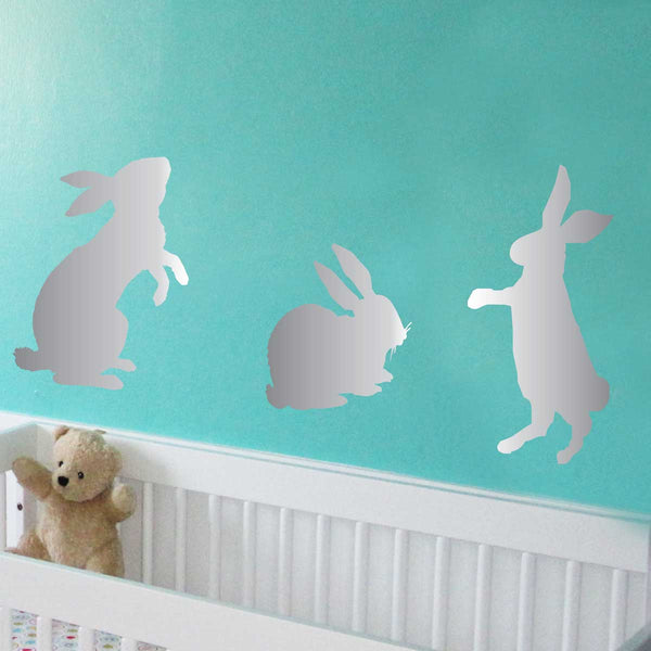 Bunny Rabbit Stencil Set - Set of 3 Rabbits - Superior Stencils