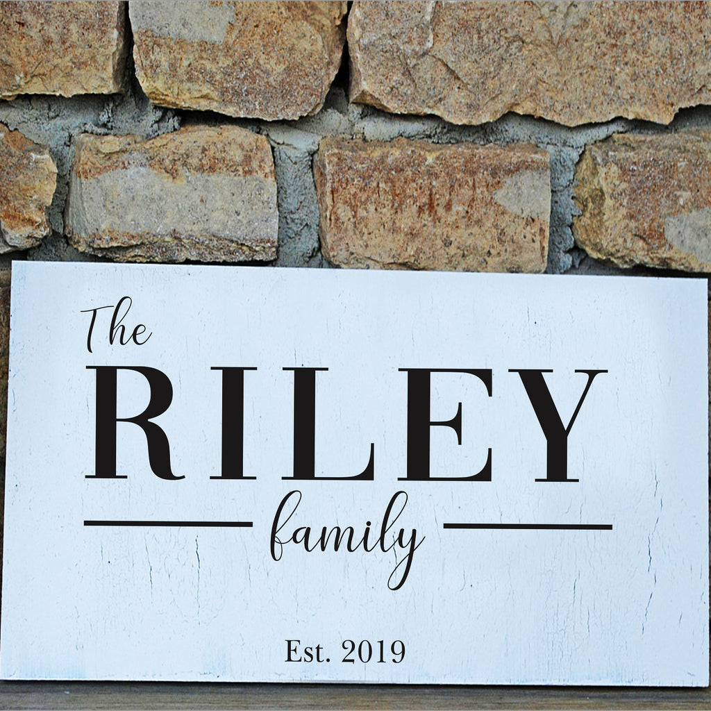 Custom Family Stencil - Superior Stencils