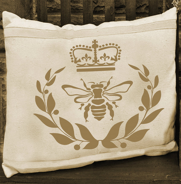 Royal Bee Stencil - Superior Stencils