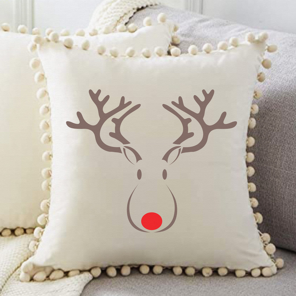 Rudolph the Red Nose Reindeer Stencil - Superior Stencils