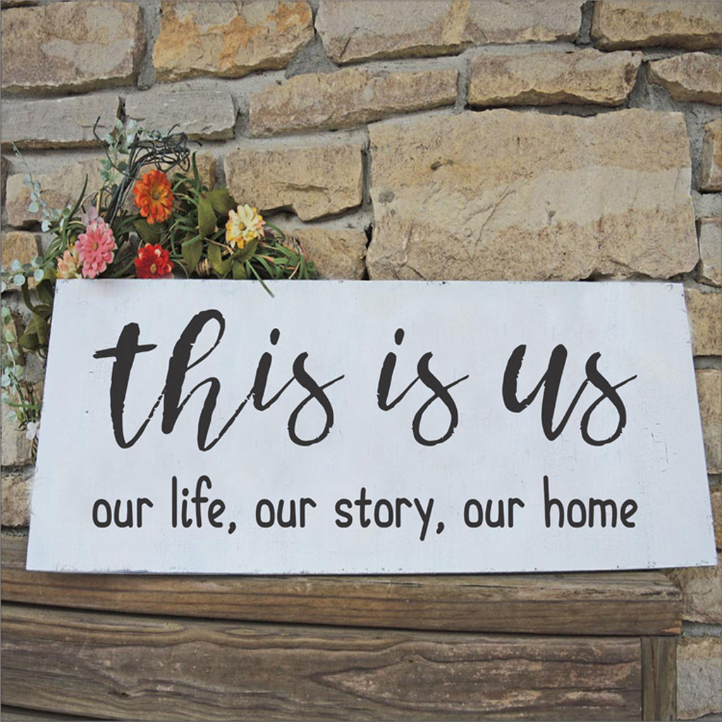 this is us Stencil - Superior Stencils